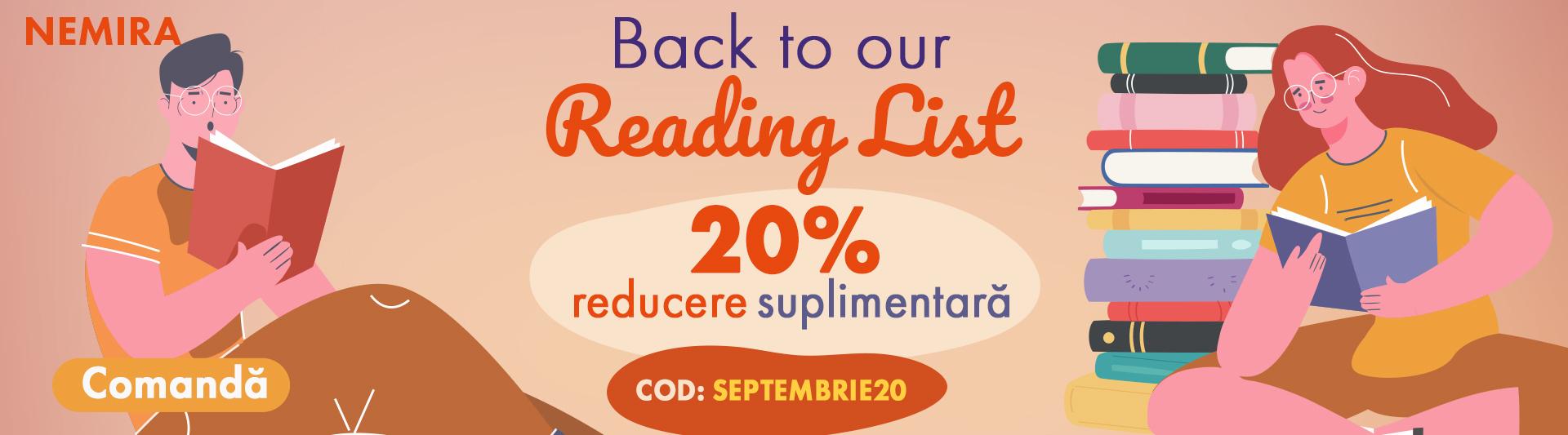 20% reducere suplimentară