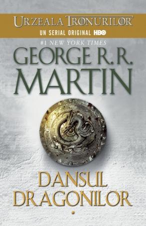Dansul dragonilor (Saga Cantec de gheata si foc partea a V-a paperback)
