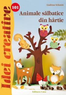 Animale Salbatice Din Hartie - Idei Creative 101