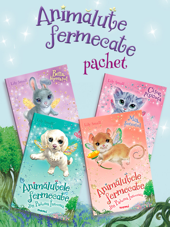 Pachet Animalute fermecate 4 vol.