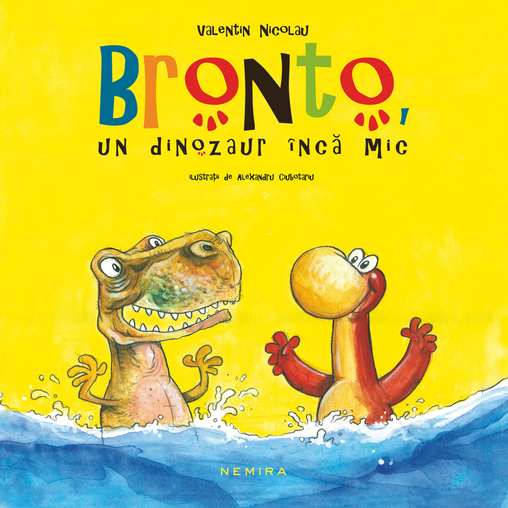 Bronto Un Dinozaur Inca Mic