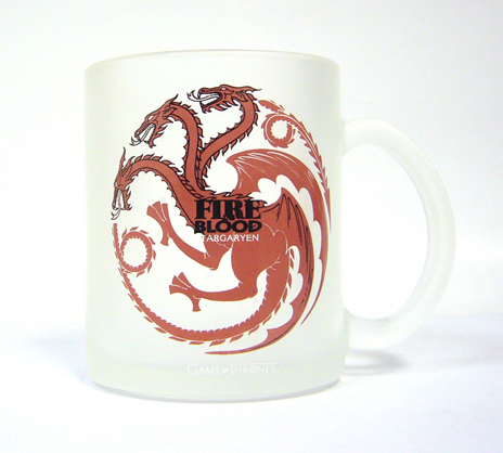 Cana Transparenta Targaryen Fire And Blood - Game Of Thrones