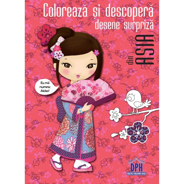 Coloreaza Si Descopera Asia