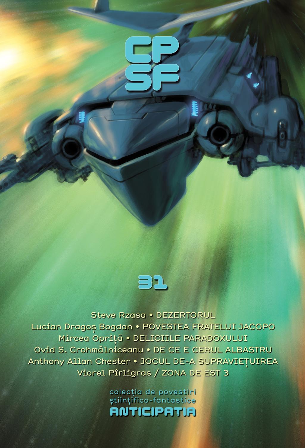 Colectia de Povestiri Stiintifico-Fantastice (CPSF) Anticipatia Nr.31