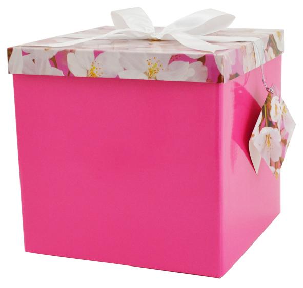 Cutie De Cadou Pink Flower L