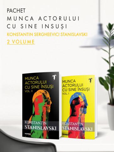Pachet Munca actorului cu sine însuși 2 vol.