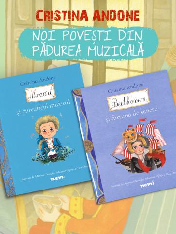 Pachet Povești din Pădurea Muzicală 2 vol. ed. 2020