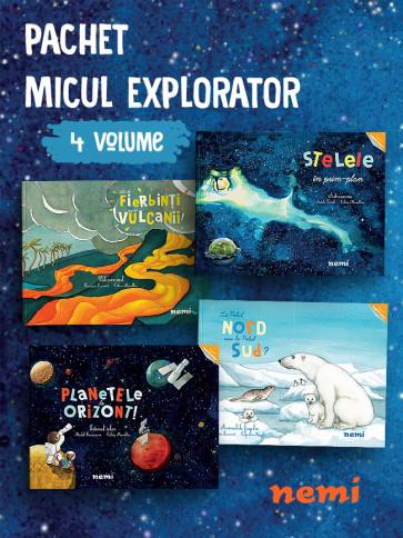 Pachet Micul explorator 4 vol.