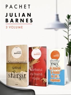 Pachet Julian Barnes 3 vol.