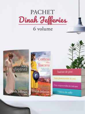 Pachet Dinah Jefferies 6 vol