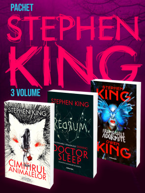 Pachet Stephen King 3 vol.