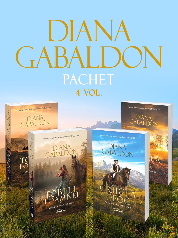 Pachet Diana Gabaldon 4 vol.