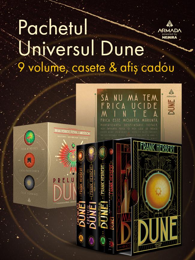 Pachet Universul Dune 9 vol.
