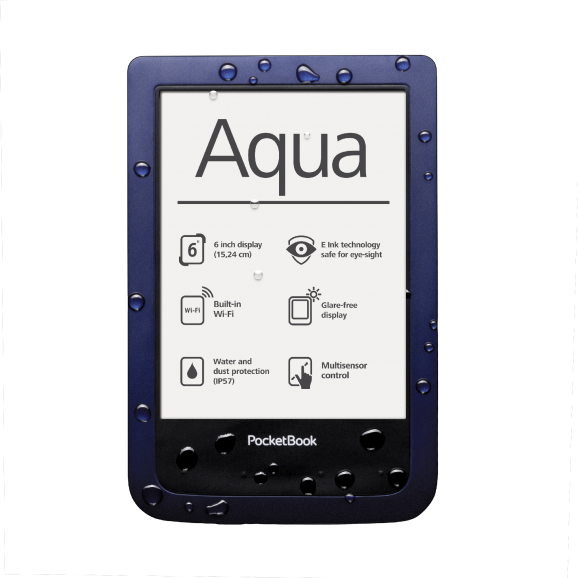 Pocketbook Aqua 640 4gb Dark Blue - Ebook Reader