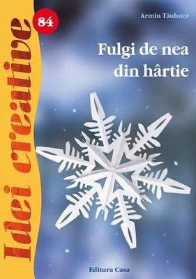 Fulgi De Nea Din Hartie - Idei Creative 84