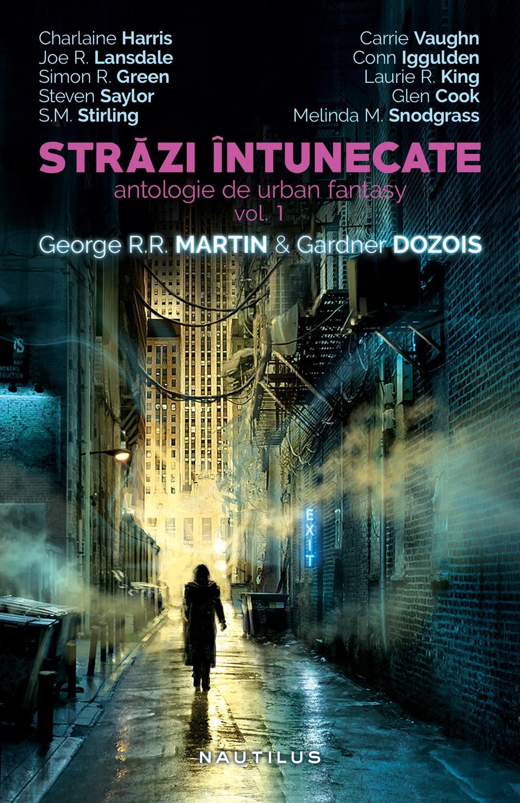 Strazi Intunecate (ebook Antologie De Urban Fantasy Vol. 1 & 2)