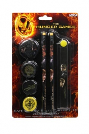 Hunger Games Set 7 Rechizite Katniss Peeta
