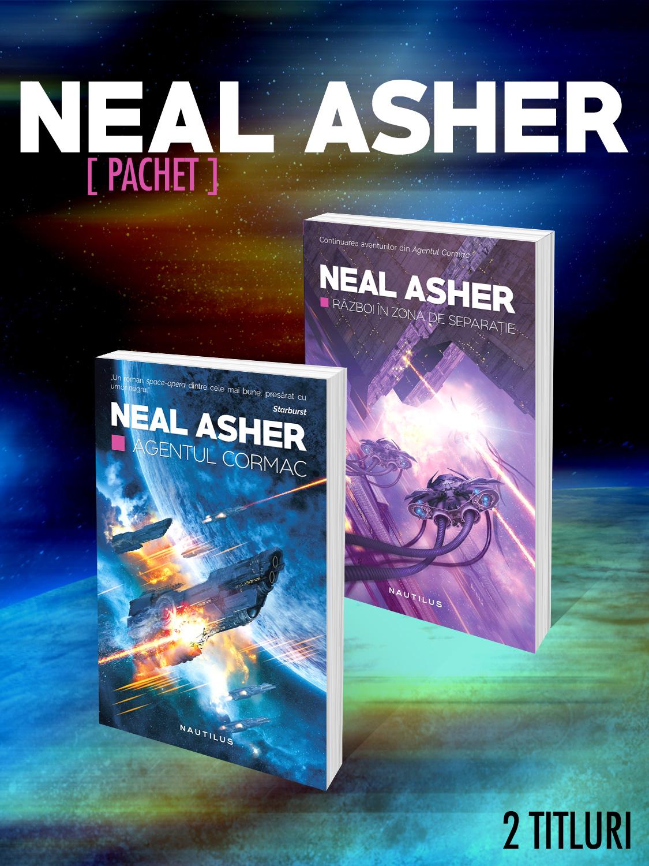 Pachet Neal Asher 2 vol.