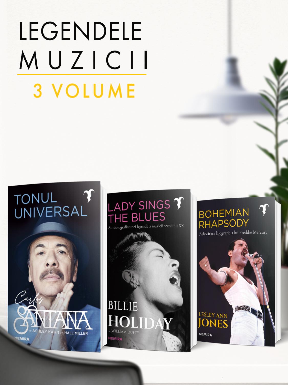 Pachet Legendele muzicii 3 vol.