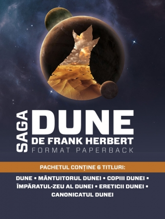 Pachet Seria Dune (paperback)