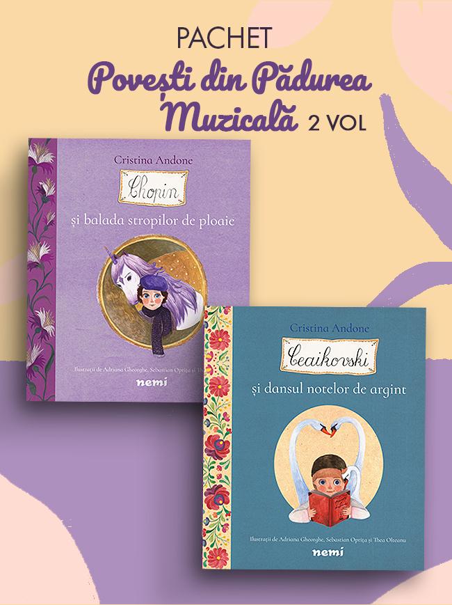 Pachet Povesti din Padurea Muzicala 2 vol. ed. 2021