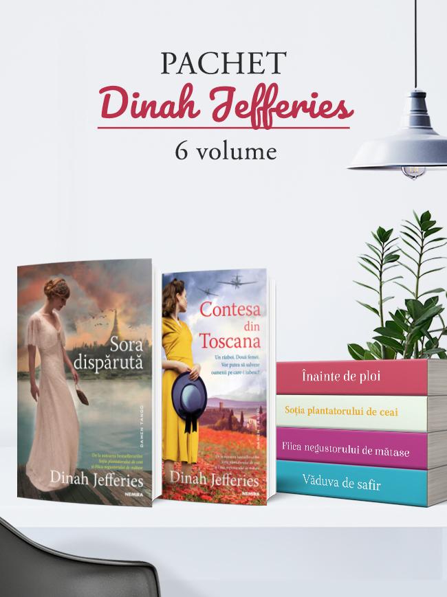 Pachet Dinah Jefferies 6 vol.