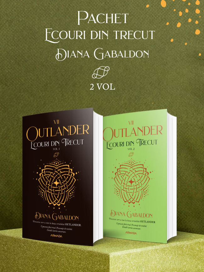 Pachet Ecouri din trecut 2 vol. (Seria Outlander partea a VII-a ed. 2021)