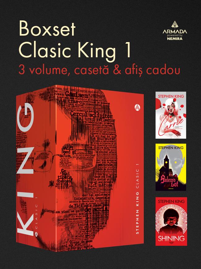 Boxset King Clasic 1 - 3 vol