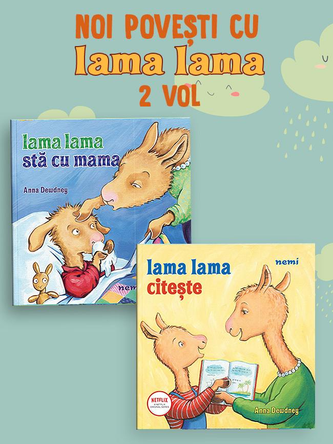 Pachet Lama Lama 2 Vol. ed. 2021
