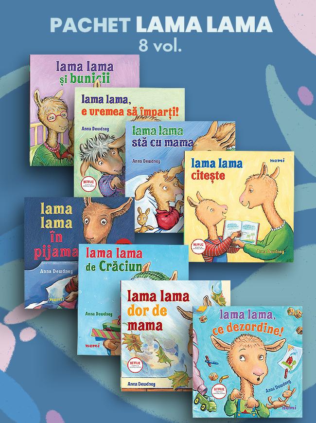 Pachet Lama Lama 8 Vol.