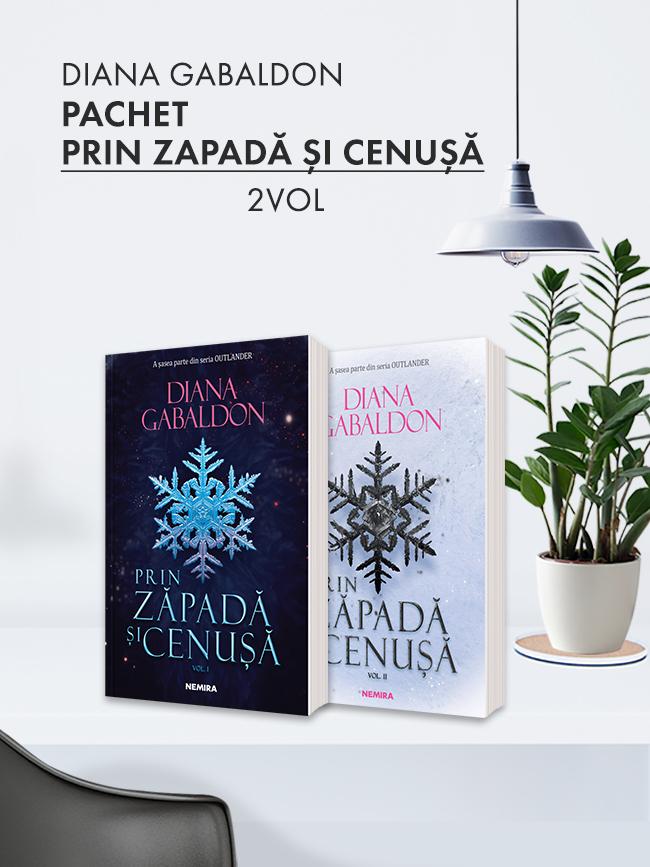 Pachet Prin zăpadă și cenușă 2 vol. (Seria Outlander partea a VI-a)