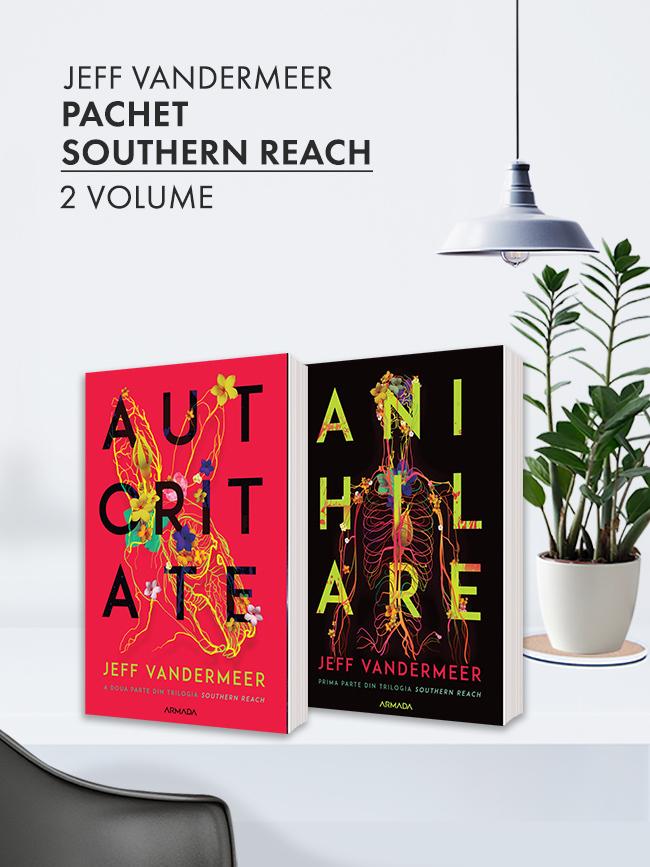 Pachet Trilogia Southern Reach 2 vol.