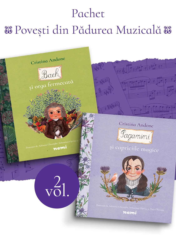 Pachet Povesti din Padurea Muzicala 2 vol.