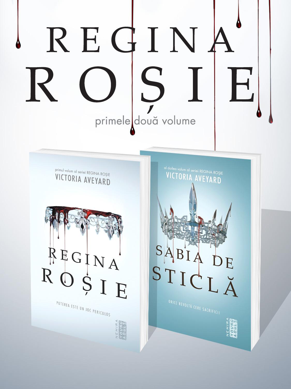 Pachet Seria Regina Rosie 2 vol.