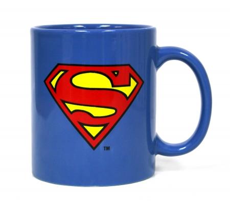 Superman Cana Ceramica Logo