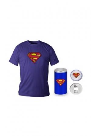 Superman Tricou Albastru Cu Logo Barbat L