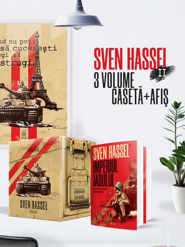 Pachet Sven Hassel II ed.2020 3 vol.