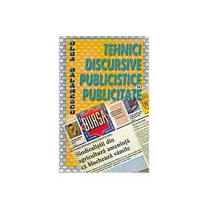 Tehnici Discursive Publiciste Si Publicitare