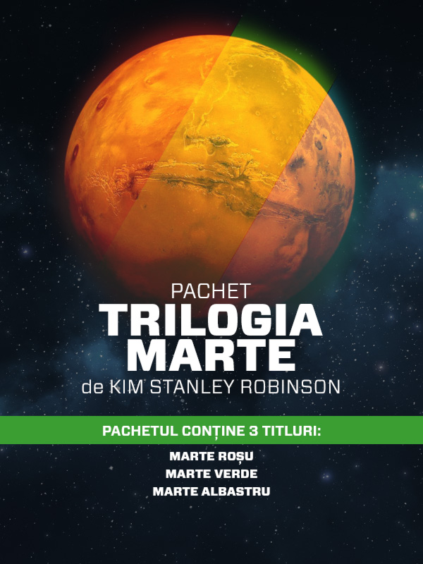 Pachet Trilogia Marte