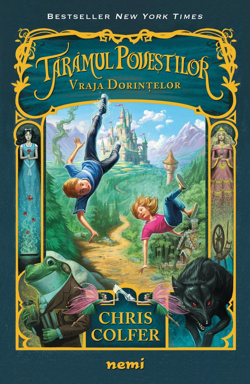 Vraja Dorințelor (ebook  Seria Tărâmul Poveștilor  partea I)