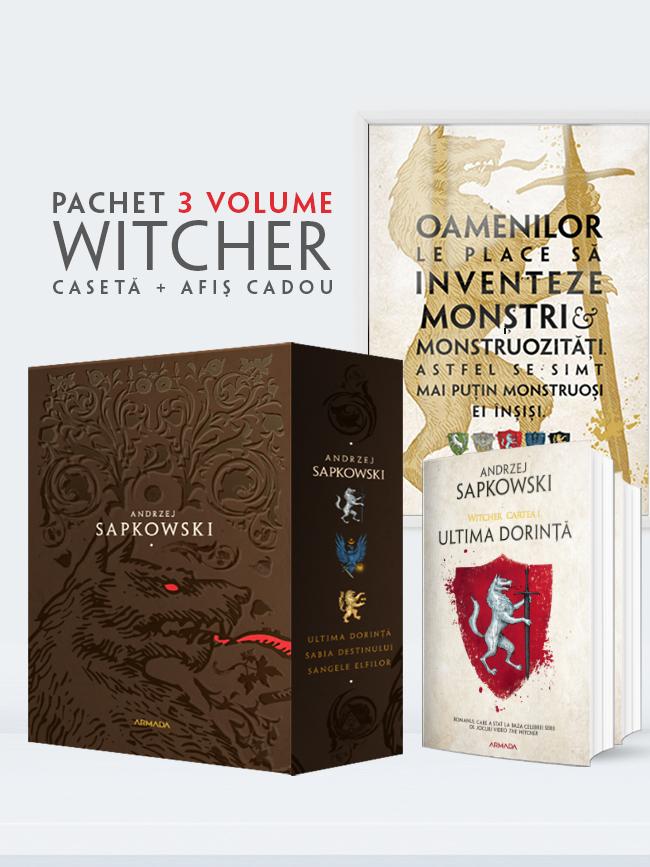 Pachet Witcher 3 vol.